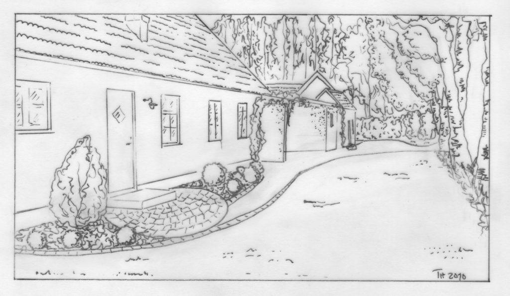 Entréträdgård, Trädgårdsdesign, Trädgårdsarkitektur, Infart