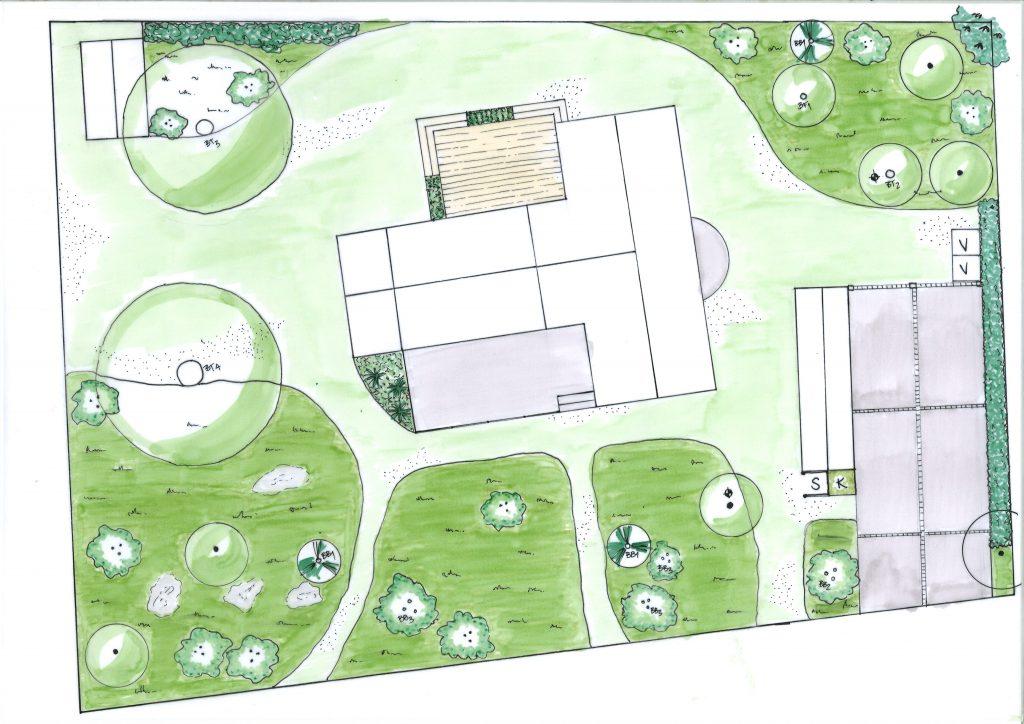 Ängsträdgård, Havsnära, Trädgårdsdesign, Trädgårdsarkitektur
