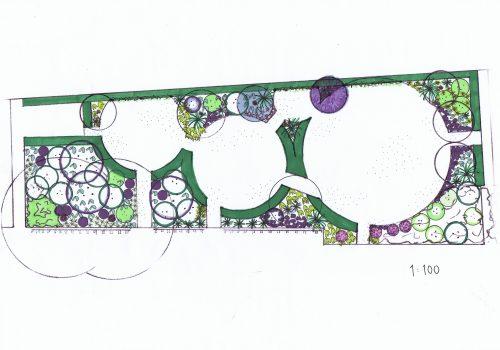 Trädgårdsdesign, Trädgårdsarkitektur, Garden design, Många sittplatser