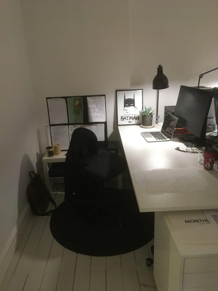 nya kontoret, Skärpa Studio, T som i Trädgård, Trädgårdsarkitekt