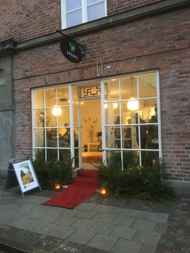 Skärpa Studio, T som i Trädgård, Nya kontoret, nyrenoverat, Trädgårdsarkitektur